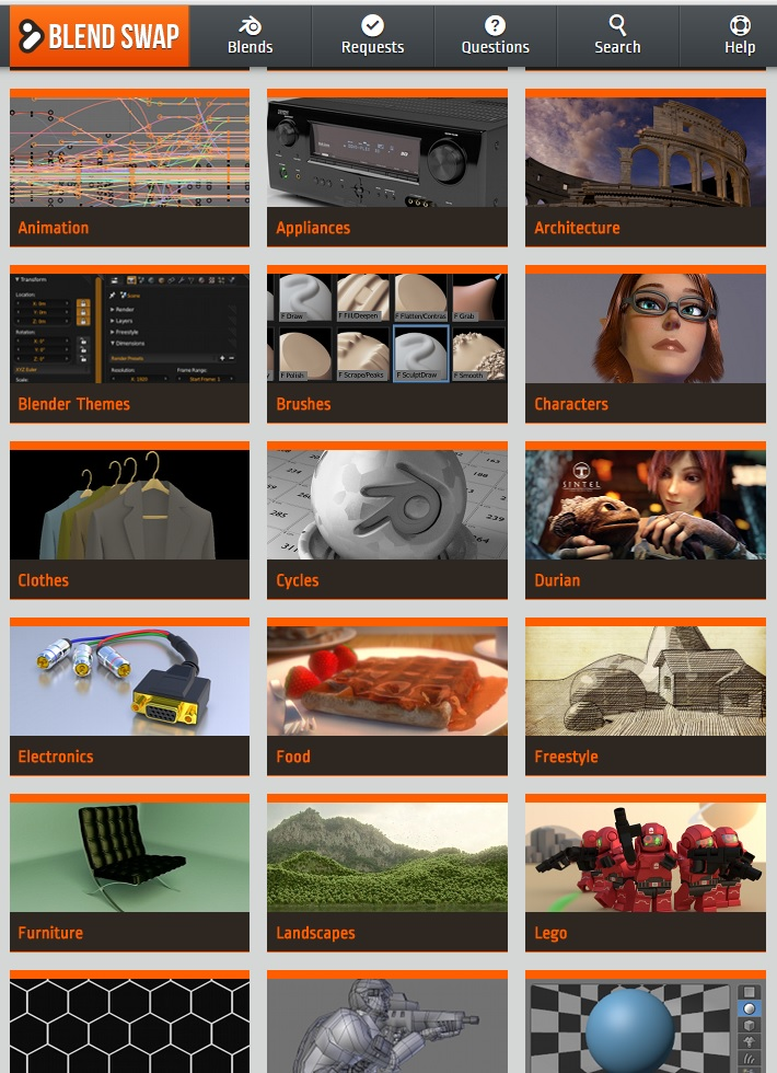 11 Awesome websites to get Free 3D Models