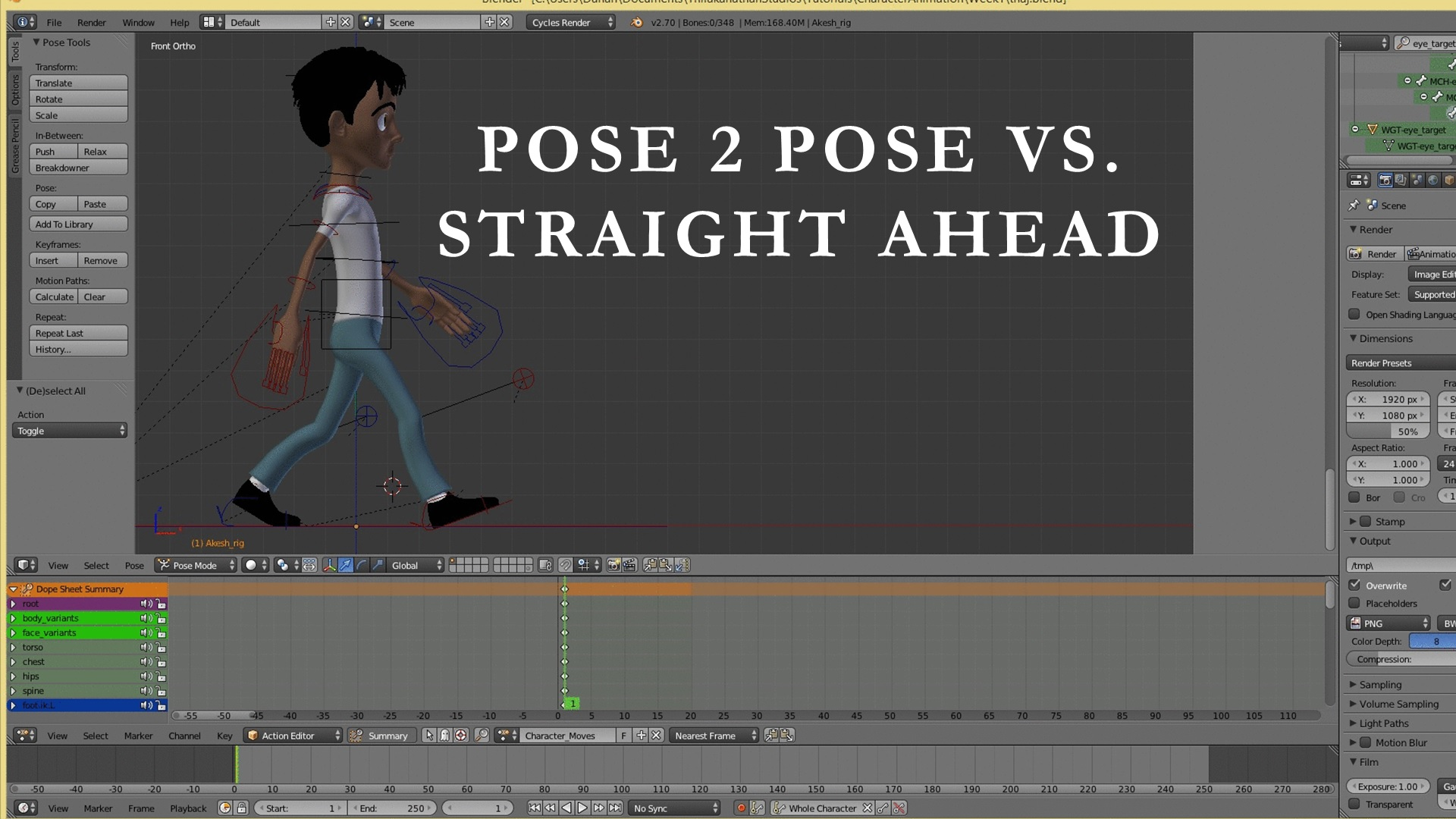 Pose To Pose Animation vs Straight Ahead Animation