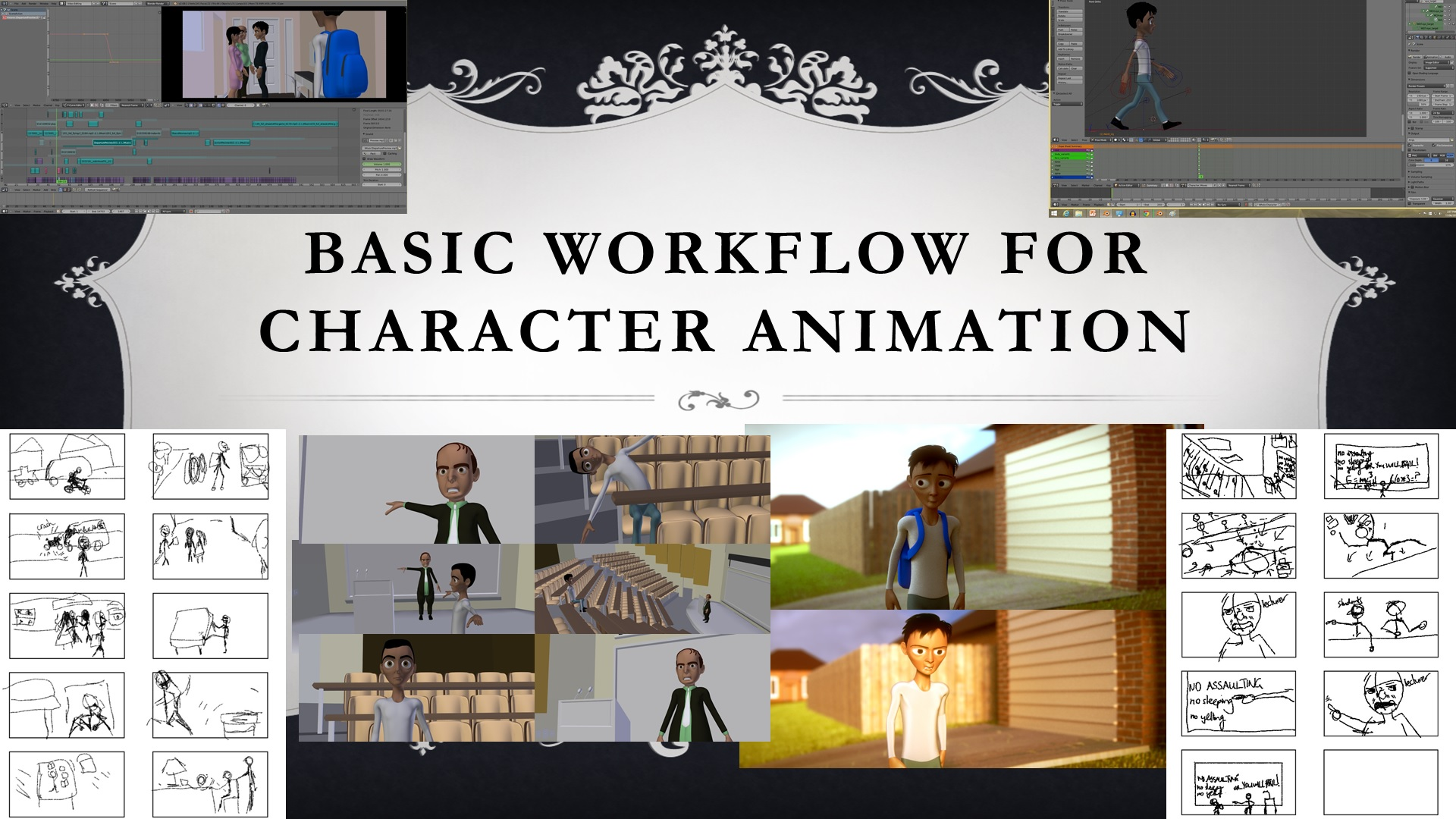 Workflow for Character Animation (Blender Animation Tutorial for Beginners!)