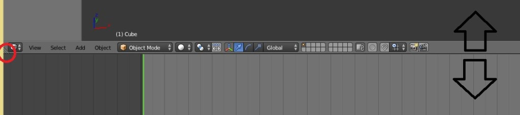 Blender interface size modify