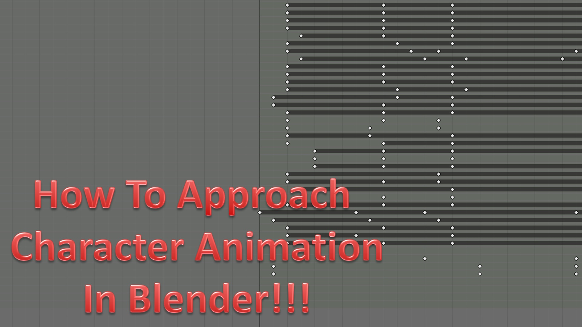 How To Approach Character Animation!
