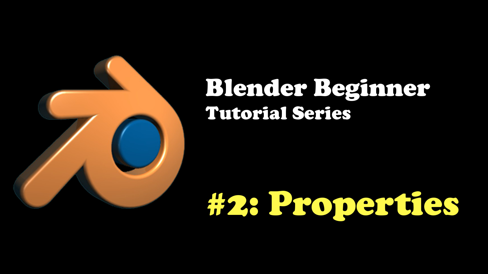 The Blender Property Panel