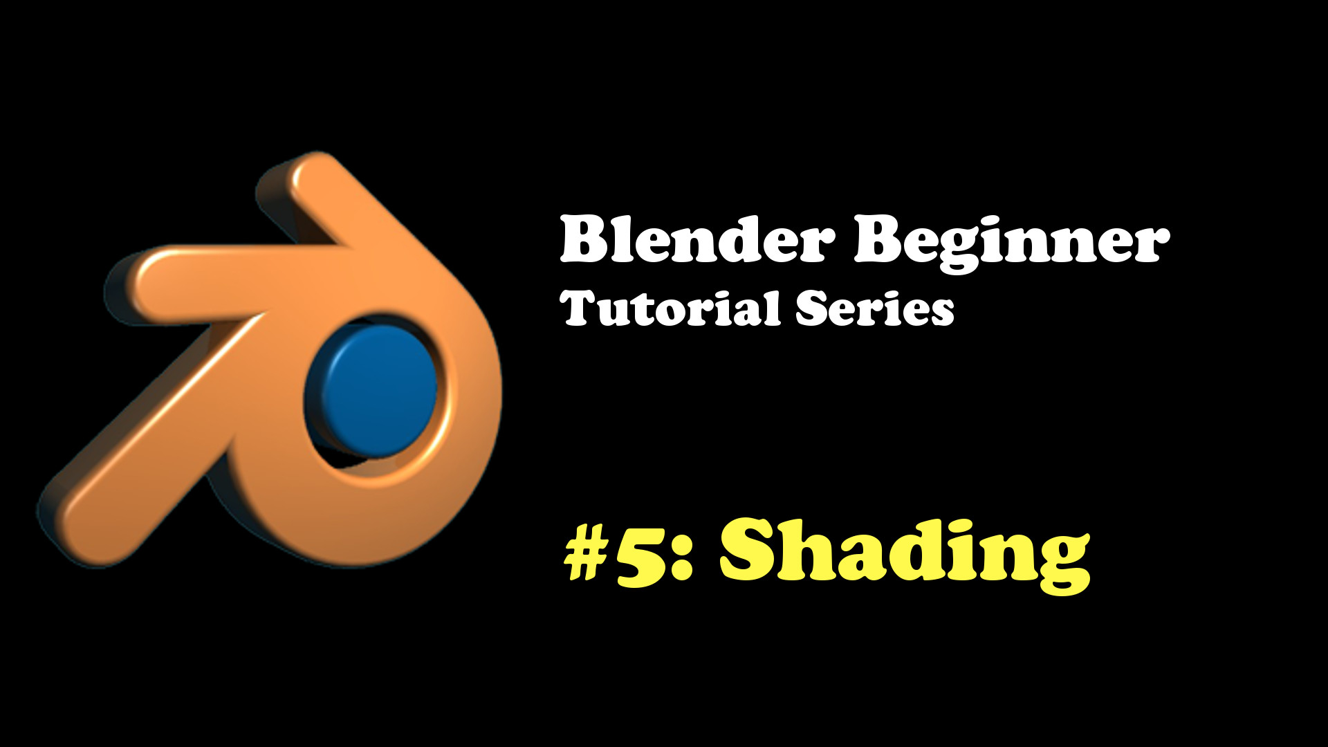 Beginner's Introduction to Blender Shaders (Blender Cycles Tutorial)