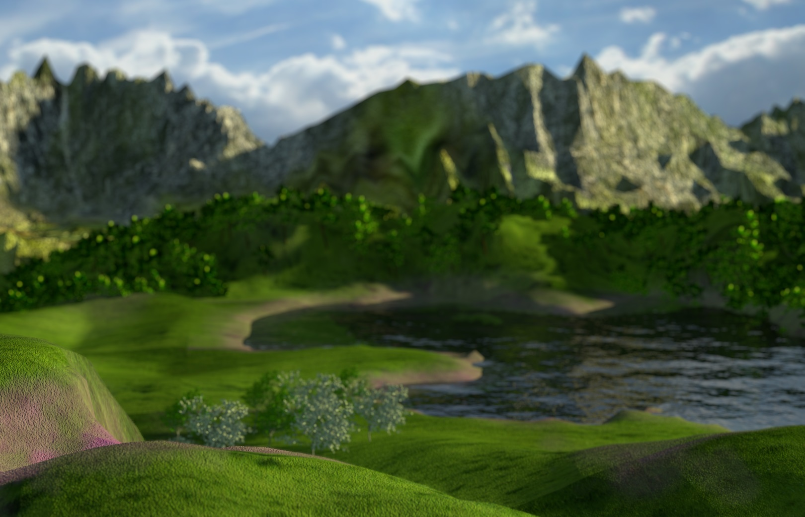 How To Create Mountains In Blender (In 5 minutes or less)