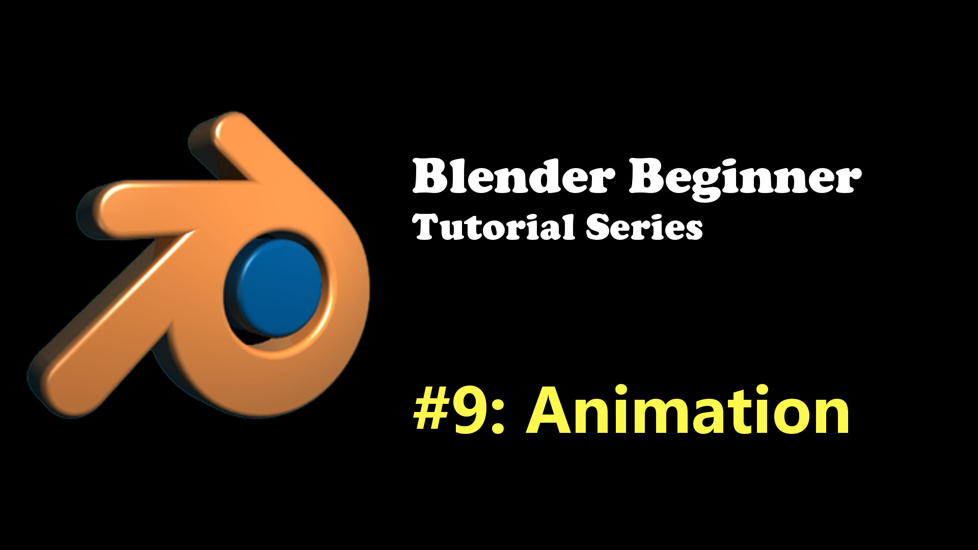 Beginner's Introduction to Animation in Blender