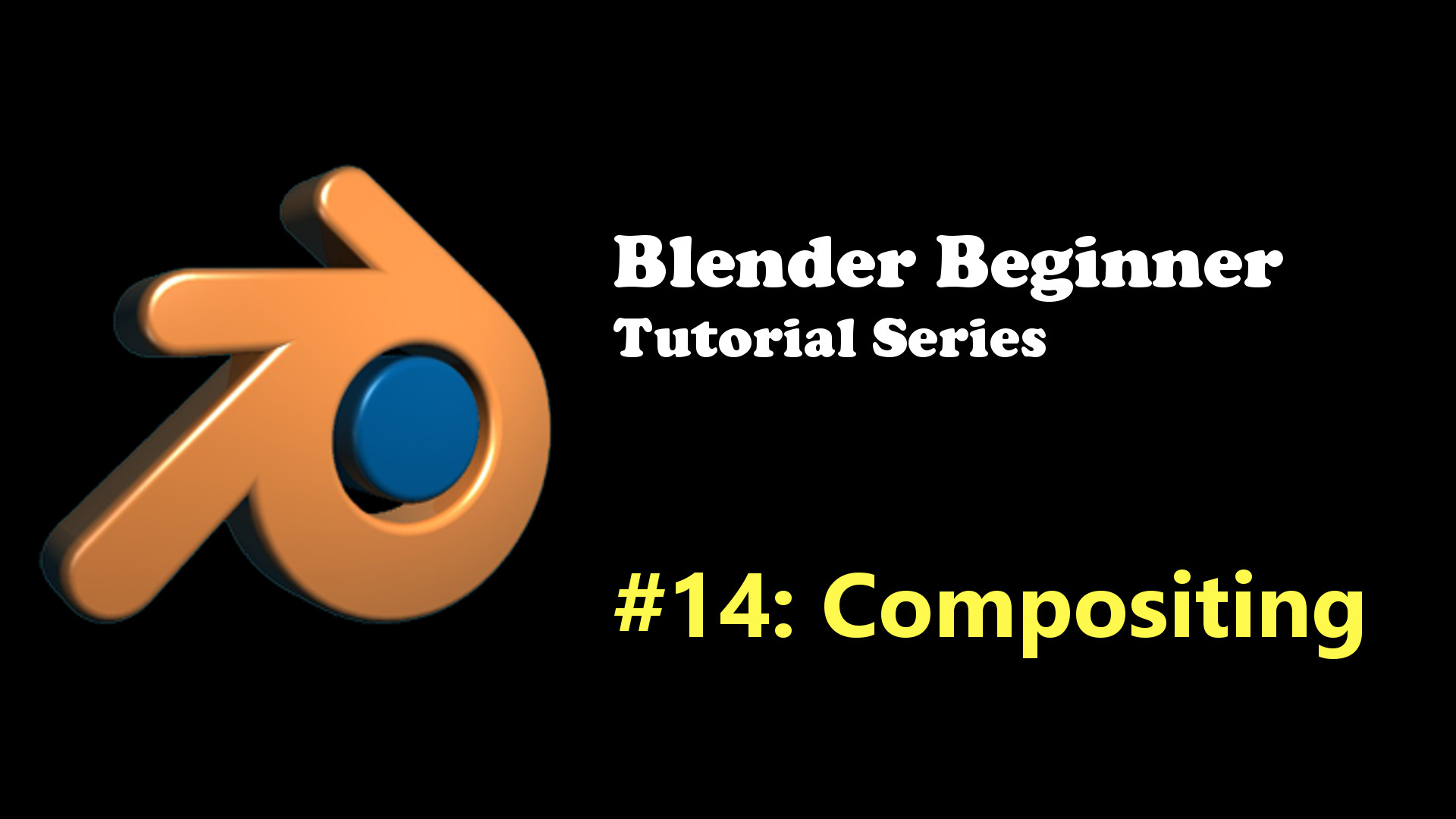 Introduction to Compositing in Blender