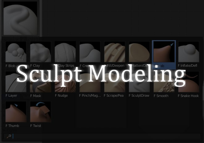 Sculpt Modeling: The 3D Modeling Technique